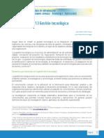 Lectura 1 Gestión Tecnológica (todo el documento)