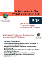 Lecture 7- The Role of Market Research in NPD