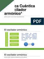 Química Cuántica - OSCILADOR ARMÓNICO