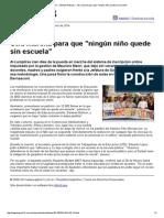 Página_12 __ Ultimas Noticias __ Otra marcha para que _ningún niño quede sin escuela_