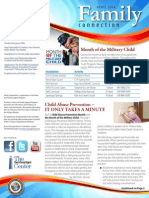 Family Connection Newsletter - April 2014