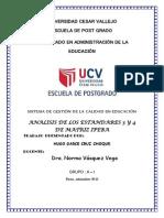 Trabajo Estandares 3 y 4 Doctorado Ucv-puno