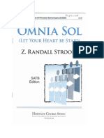 Omnia Sol (Let Your Heart Be Staid)