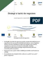 Strategii și tactici de negociere