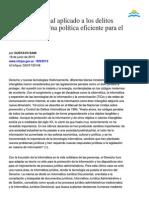 Gustavo Sain - El derecho penal aplicado a los delitos informáticos.