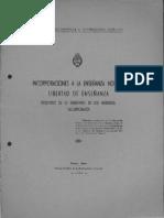 EL003542 1937 Debate de Incorporaciones y Normalismo