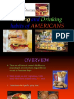 Eating and Drinking Habits of Americans 1 [1][1]