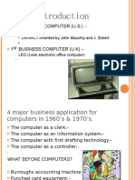Use of Computer in Business