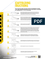 Exterior Scaffolding Guidelines