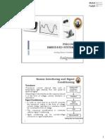 Assignment Sensor Interfacing-ADC