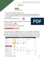 Manual Access 2010 Guia 01 Modulo Operador de Base de Datos