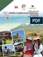 72731124 Propuesta de Diseno Curricular Regional Arequipa