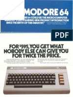 Commodore64 1982 brochure