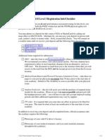 Bam III Reg Packet
