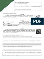 Ficha de Trabalho - Relações Inter-específicas I