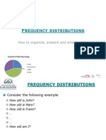 Frequency Distribution Statistics