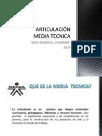 ARTICULACIÓN MEDIA TECNICA