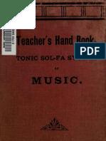 Hymn Accompaniment - Sol Fah Handbook