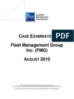 Fleet Management Group August 2010 CaseExamBook CMA