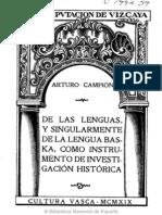 Lengua Vasca Campion