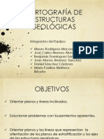 Cartografia de Estructuras Geologicas, 2012