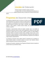 Normas e Instrumentos de Planeacion