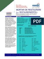 0750 - Restauriermortel