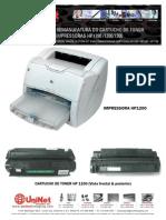Recarga de Toner Para HP1150_1200_1300