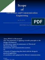 scope of electronics  and  communication
