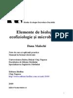 Elemente de biologie, ecofiziologie şi microbiologie
