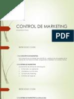 Control de Marketing Cap 1