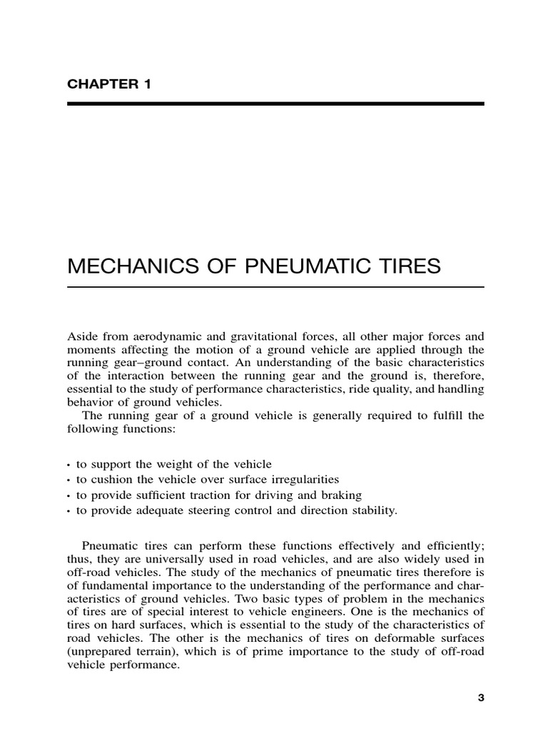 Mechanics Of Pneumatic Tires Tire Vehicle Technology Fig 2 Radialply Rotation Diagram