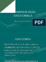Terminología anatómica CLASE 1.ppt