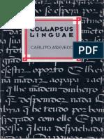 AZEVEDO, Carlito - Collapsus Linguae