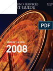 HEDGE FUND SERVICES MARKET GUIDE 2008