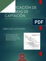 CLASIFICACIÒN DE LAS OBRAS DE CAPTACIÒN