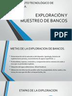 EXPLORACIÒN Y MUESTREO DE BANCOS