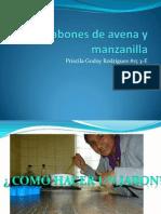 Jabones de Avena y Manzanilla