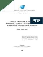 Gislene Ramos Bessa - Teoria Qualitativa de EDO