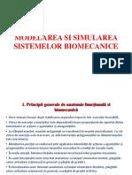 Modelarea Simularea Sistemelor Biomecanice
