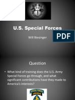 u s  special forces i-search presentation