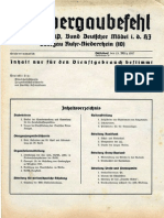 Bund Deutscher Mädel - Obergaubefehl (1937)