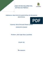 desarrollo de características de documentos electrónicos.
