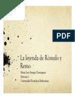 Unidad 5 Rómulo y Remo - María José Arango