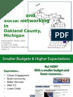 Social Networking at Oakland County, Michigan