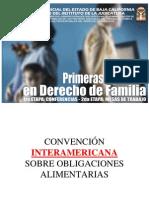 30  CONVENCIÓN INTERAMERICANA SOBRE OBLIGACIONES ALIMENTARIAS 7 MAY 09 TSJBC