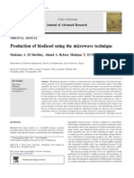 Jurnal Biodisel Dengan Microwave