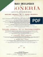 DICCIONARIO ENCICLOPÉDICO DE LA MASONERÍA - VOLUMEN II