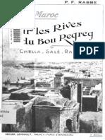 Au Maroc Sur Les Rives Du Bou Regreg Rabat - Sale - Chella ... - Rabbe, P. F