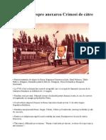 13 lucruri despre anexarea Crimeei de către Rusia